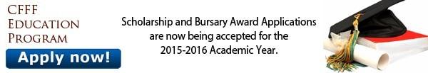 CFFFEP 2014 Scholarship and Bursary Awards Applications